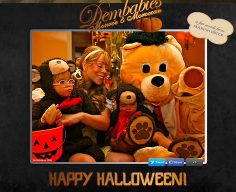 Mariah Carey Happy Halloween Twitter