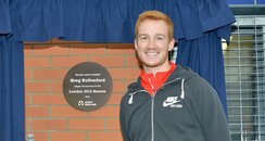 Greg Rutherford Plaque