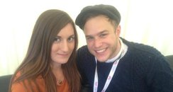 Heart News Amy With Olly Murrs In Luton