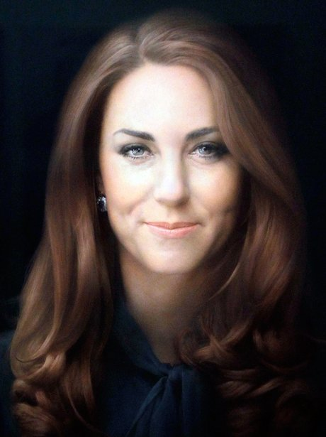 Duchess of Cambridge portrait by Paul Emsley