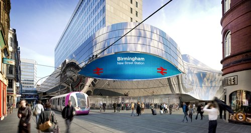 Entrance to New Street Station