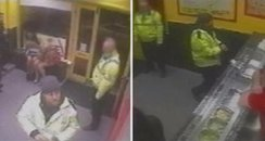 CCTV Takeaway Attack
