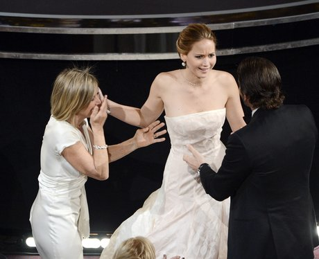 Jennifer Lawrence And Bradley Cooper Oscars Awards Show View