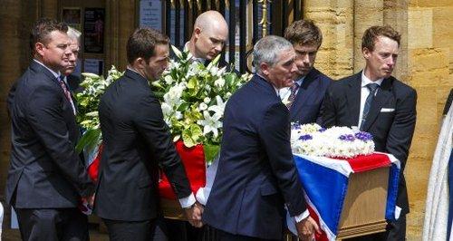 Andrew Simpson's Funeral