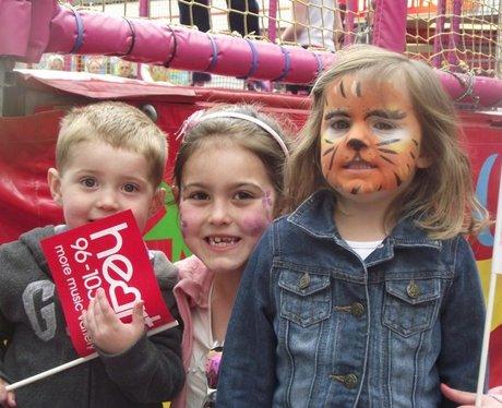 Heart at Taunton Family Fun Day