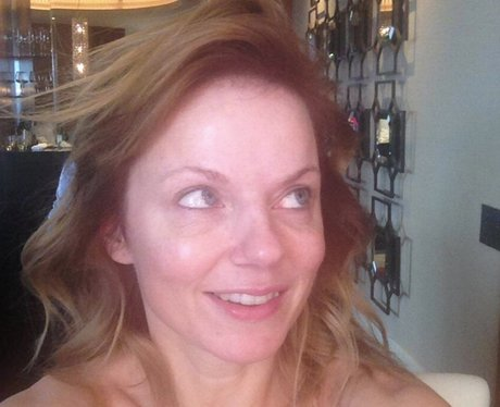 Geri Halliwell Without Makeup Bare Naked Ladies Stars