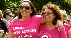 Northampton Race for Life Walkers Joggers and Runn