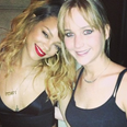 Rihanna and Jennifer Lawrence