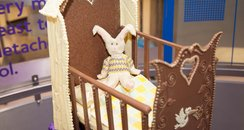 Cadbury World Royal Baby Cot