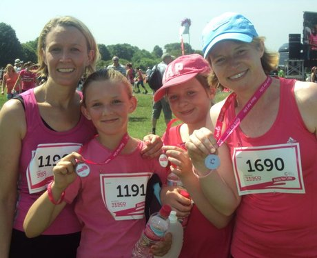 Race for Life Bristol 5k - The Finishers