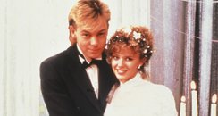 Scott and Charlene in Neighbours