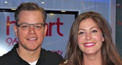 Lucy And Matt Damon