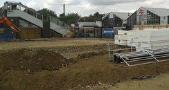 Northampton Station Work Begins