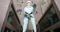 Doris Cicely Long abseil Hayling Island Portsmouth