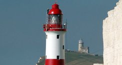 Beachy Head Lighthouse Repainted