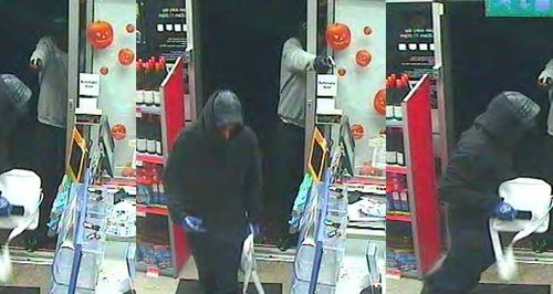 CCTV Leighton Buzzard Co-Op Robbery