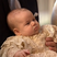 Little Prince George looks adorable in his christening gown.