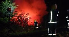 Elm House Fire