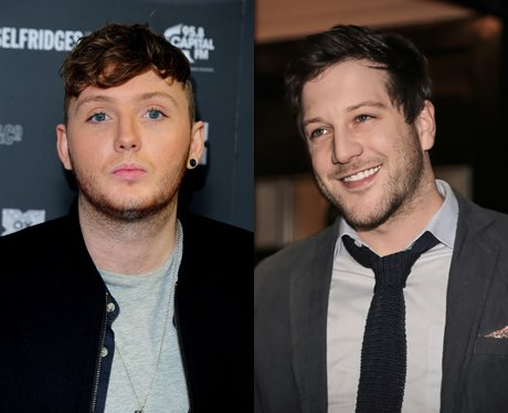 James Arthur and Matt Cardle