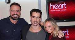 Colin Farrell with Jamie & Emma