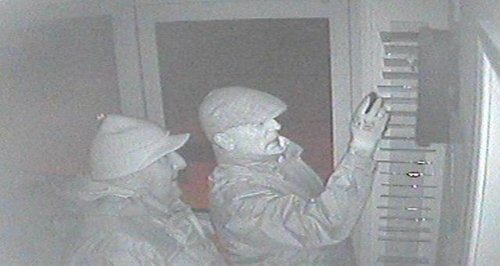 Two men caught on CCTV
