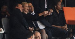 David Cameron, Barack Obama, Helle Thorning Selfie