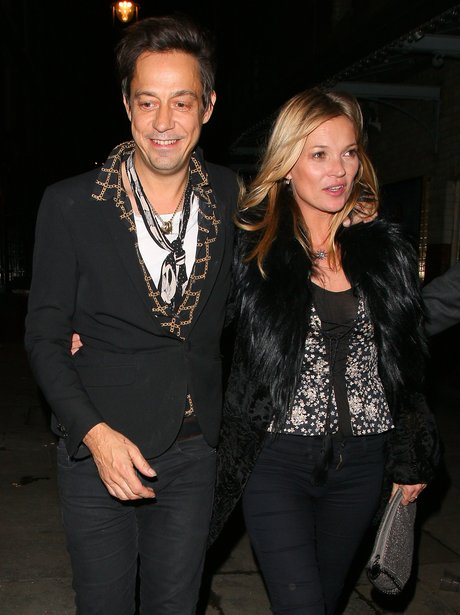 Jamie Hince and Kate Moss together