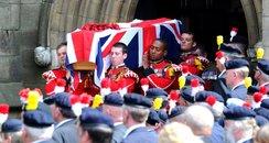 Lee Rigby's funeral