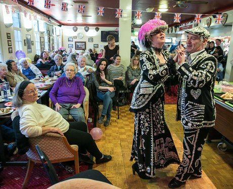 elderly tea dance