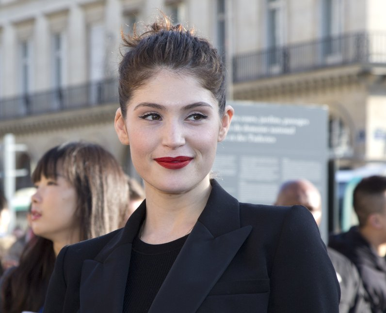 Gemma Arterton at Paris Fashion Week