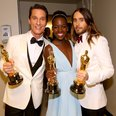 Matthew McConaughey, Lupita Nyong'o and Jared Le