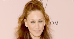 Sarah Jessica Parker in crochet dress