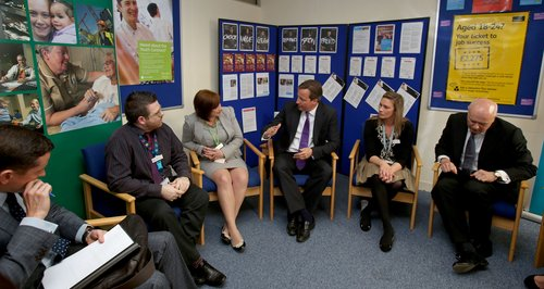 PM visits Colchester