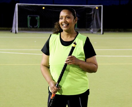 Michelle goes Back To Hockey