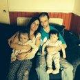 Sharon McMillan and Andy Morton at home