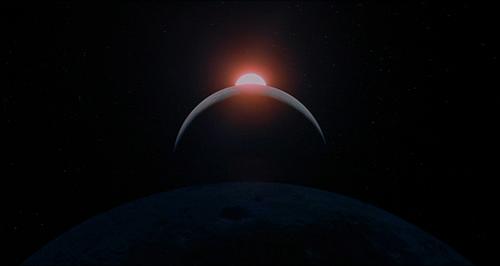 2001 A Space Odyssey sunrise