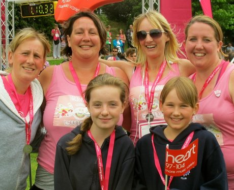 Well done to all the ladies who ran, walked & jogg