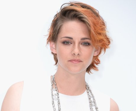 Kristen Stewart with new short hair
