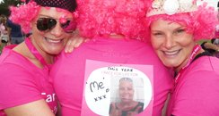 Newbury Race for Life 2014 - Finish Line