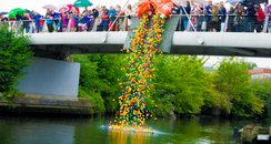 Norwich Duck Race 2014