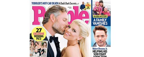 People Magazine Jessica Simpson