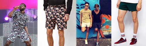 Celebs in shorts