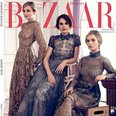 Downton Abbey Harpers Bazaar Cover