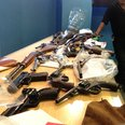 guns handed to police