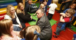 Alex Salmond childcare