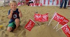 Summer Beach At Centre:mk