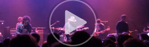 Johnny Depp playing guitar