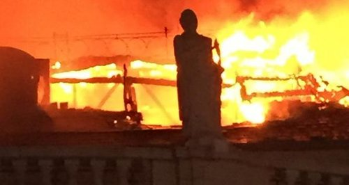 Fire at Majestek Nightclub in Leeds