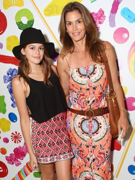 Cindy Crawford and daughter Kaia Crawford