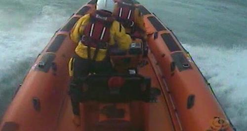 Mawgan Porth Rescue RNLI Lifeboat
